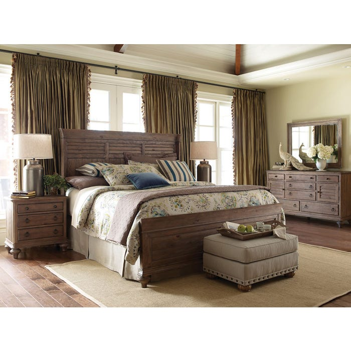 Kincaid Weatherford Shelter Bed In Heather Gorgeous Cheap Quality Bedroom Furniture Exterior Plans