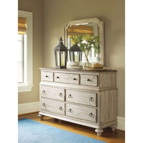 Kincaid Weatherford Wellington Dresser in Cornsilk