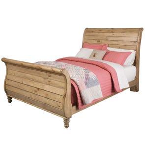 Kincaid Homecoming Vintage Pine Sleigh Bed