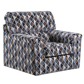 Lane Home Essentials Chromatic Mocha Swivel Chair