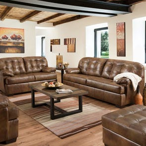 Lane Home Essentials Soft Touch Chaps 3 Piece Living Room Set