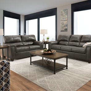 Lane Home Essentials Soft Touch Fog 3 Piece Living Room Set