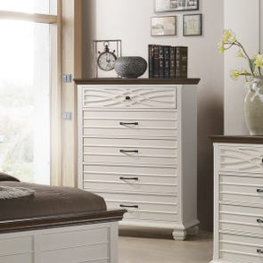 Lane Home Furnishings Bellebrooke Chest in White