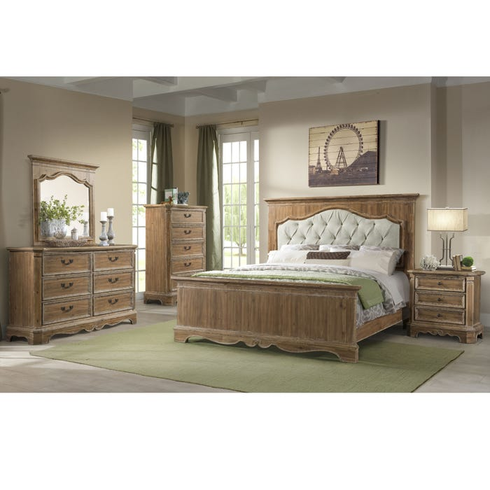 Lane Home Furnishings Cottage Charm 4 Piece King Bedroom Set
