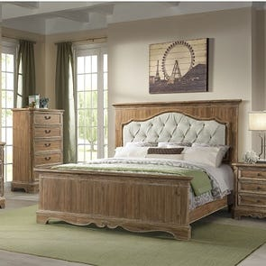 Lane Home Furnishings Cottage Charm 5 Piece King Bedroom Set