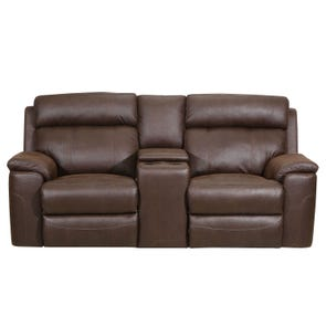 Lane Home Furnishings Koda Tobacco Motion Loveseat