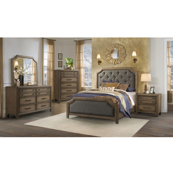 Lane Home Furnishings Urban Charm 5 Piece Queen Bedroom Set