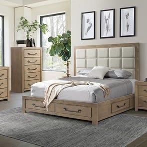 Lane Home Furnishings Urban Swag 4 Piece King Bedroom Set