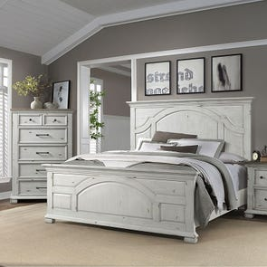 Lane Home Furnishings Vintage Revival 4 Piece Queen Bedroom Set