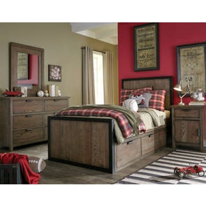 Legacy Classic Kids Fulton County Full Panel Bed with Underbed Storage Drawers