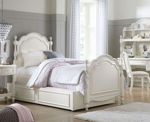 Legacy Classic Kids Harmony Summerset Full Low Post Bed with Trundle Storage Drawers