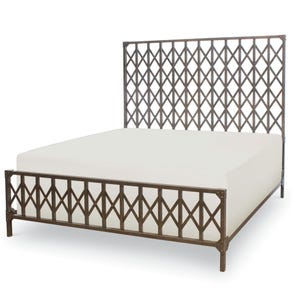 Legacy Classic Metalworks Queen Freight Elevator Gate Bed