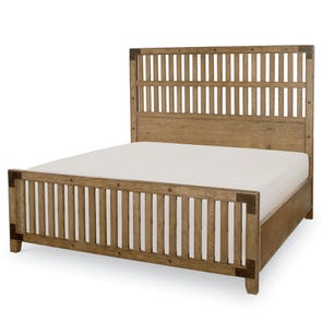 Legacy Classic Metalworks Queen Wood Gate Bed