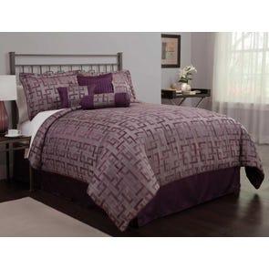 Leggett & Platt Home Textiles Paramount Collection East Lake Deluxe 7 Piece Bedding Ensmeble