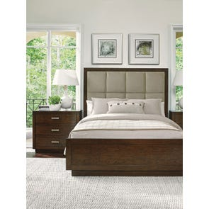 Lexington Laurel Canyon Casa del Mar Cal King Size Upholstered Bed