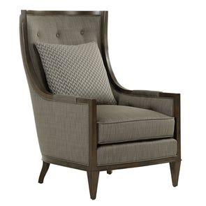 Lexington MacArthur Park Greenwood Chair in Dark Metallic Gray