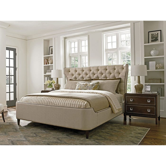 Lexington Macarthur Park Mulholland King Size Upholstered Platform Bed