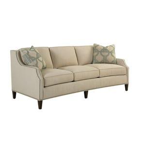 Lexington MacArthur Park Signac Sofa in Ivory and Gold