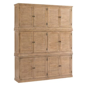 Lexington Monterey Sands Palo Alto Louvered Door Stacking Unit Set Of 3