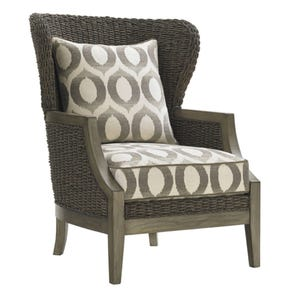 Lexington Oyster Bay Seaford Chair in Geometric Pattern