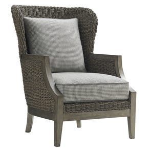 Lexington Oyster Bay Seaford Chair in Houndstooth Pattern