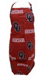 College Covers University of Oklahoma Apron