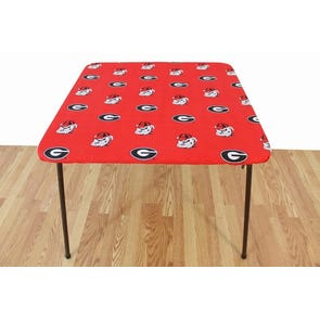 College Covers University of Georgia Card Table Cover