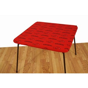 College Covers University of Arkansas Card Table Cover