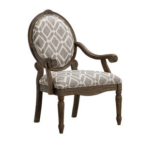 Madison Park Brentwood Accent Chair in Roma Granite