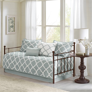 Madison Park Essentials Merritt 6 Piece Reversible Daybed Set in Grey by JLA Home