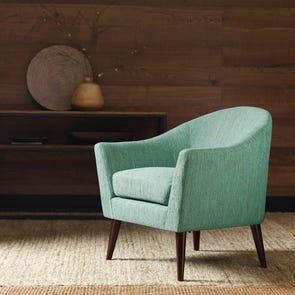 Madison Park Grayson Chair in Mirage Aegean