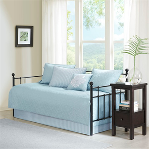 Madison Park Quebec 6 Piece Daybed Set in Blue by JLA Home