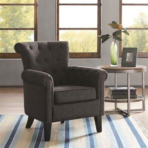Madison Park Tomlin Chair in Rogue Domino