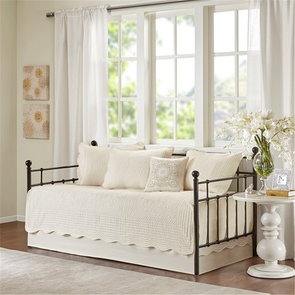 Madison Park Tuscany 6 Piece Daybed Set in Ivory by JLA Home