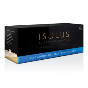 Malouf Isolus Liquid Gel Memory Foam Mattress Topper