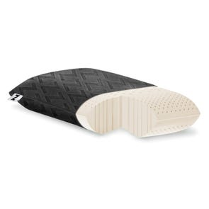 Malouf Travel Zoned Dough Memory Foam Pillow