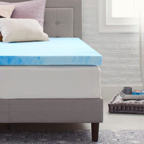 3 Inch Memory Foam Mattress Topper by Comfort Revolution