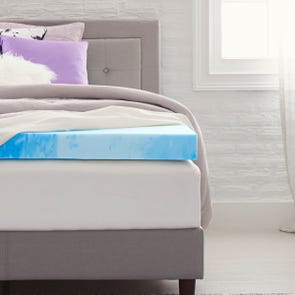 4 Inch Memory Foam Mattress Topper by Comfort Revolution