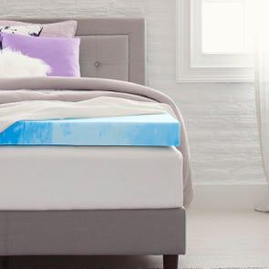4 Inch Memory Foam Mattress Topper by Comfort Revolution