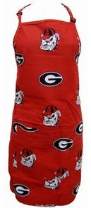 College Covers University of Georgia Apron
