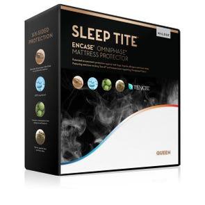 Malouf Sleep Tite Encase LT Omniphase Tencel Split Queen Size Mattress Protector
