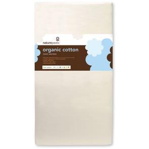 Naturepedic Organic Cotton Classic 150 Seamless Crib Mattress