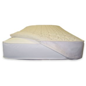 Naturepedic Organic Quilted Mattress Topper - Crib Fitted Design