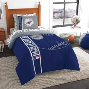 Clearance Los Angeles Dodgers Twin Bed in a Bag by Northwest Company OVLB0818107