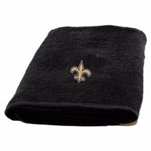 New Orleans Saints Applique Bath Towel by Northwest Company