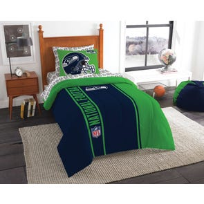 Seattle Seahawks NFL Twin Bed in a Bag by Northwest Company