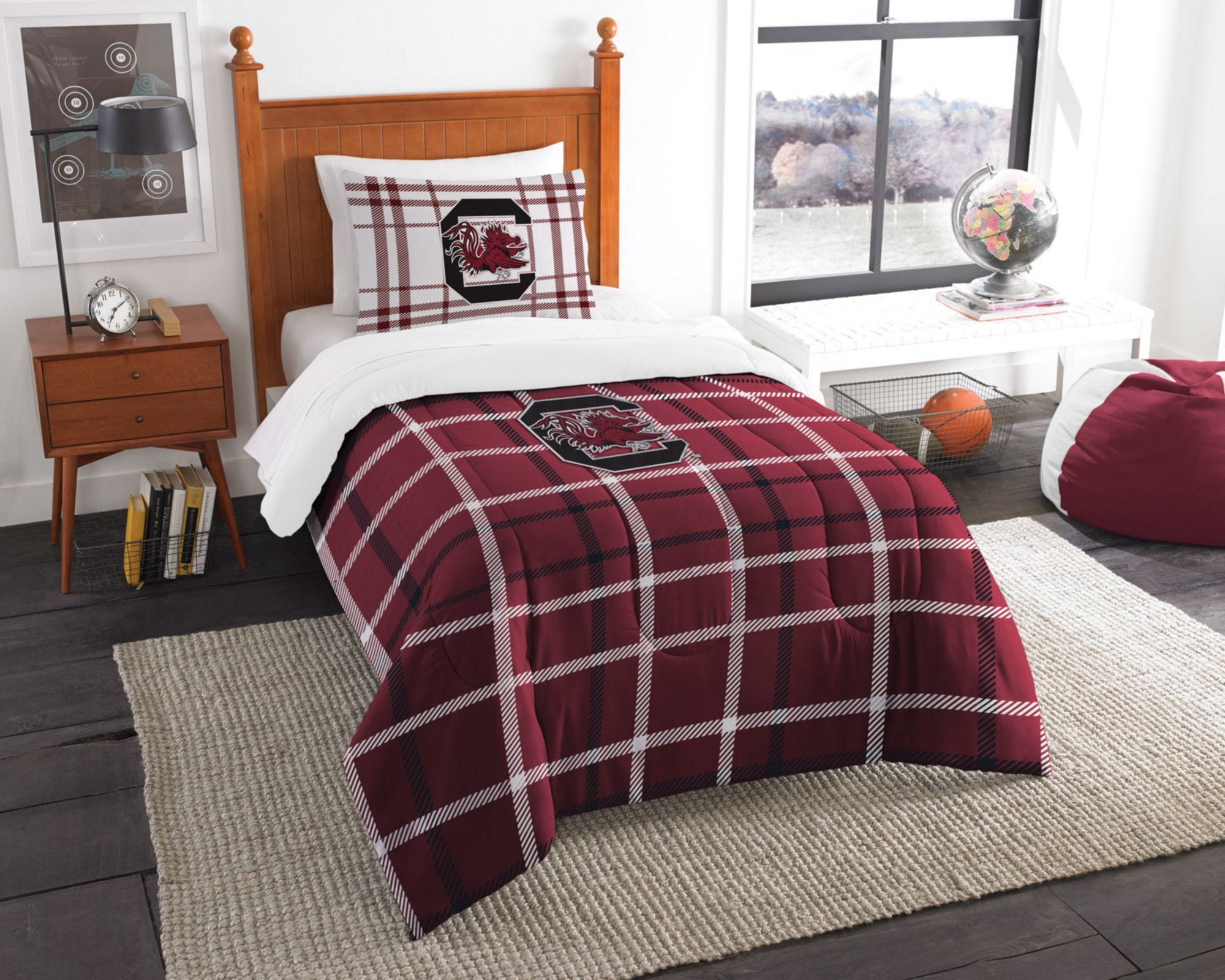 Camping & Outdoor Decken & Inletts The Northwest Company Officially Licensed Ncaa South Carolina Gamecocks Fullb...
