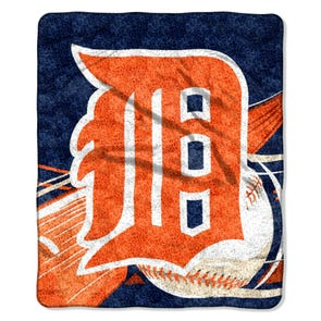 Detroit Tigers Sherpa Throw by Northwest Company
