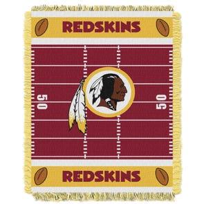 Washington Redskins NFL Field Woven Jacquard Baby Throw by Northwest Company
