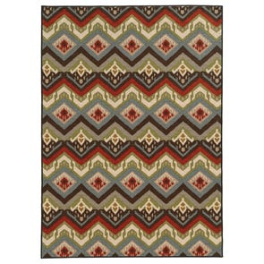 Oriental Weavers Emerson 3309A Geometric Beige and Gold Area Rug